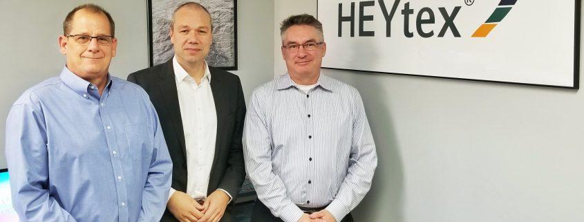 Ted Anderson, Retired President BondCote Corp Dr. Heribert Decher, CEO Heytex Group Martin Denney, New President BondCote Corp