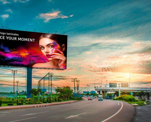 HEYsign_laminates_billboard_shutterstock-CHAILUKCHALATHAI+AnnaSubbotina