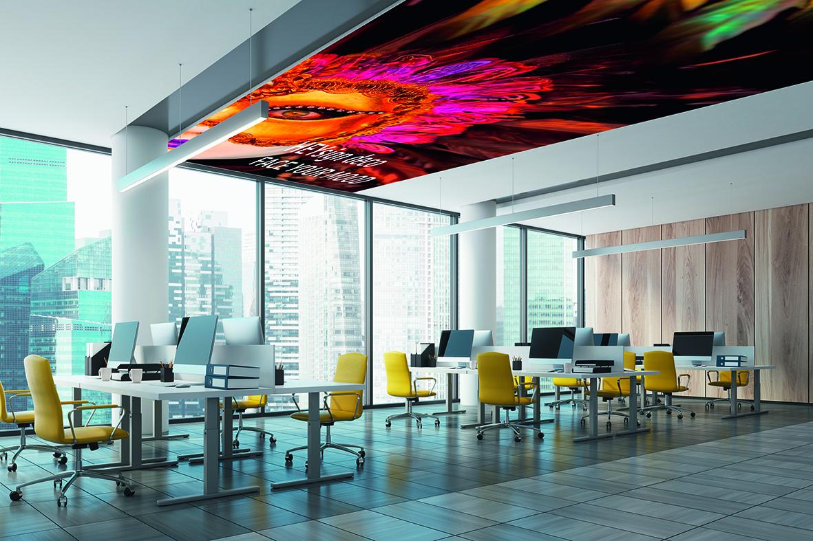 HEYsign – deco wall & ceiling – Heytex technical textiles